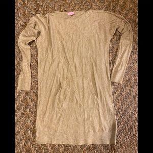 Lilly Pulitzer sweater dress medium